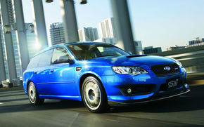 Subaru pregateste Legacy STI S402