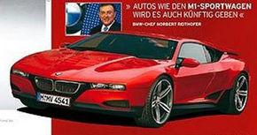 BMW M1 de serie ar putea arata asa!