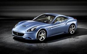 Montezemolo, primul test drive cu Ferrari California