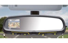 Inovatie: GPS integrat in oglinda retrovizoare