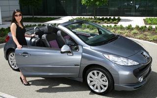 Peugeot 207 CC Elle, editie speciala pentru ele