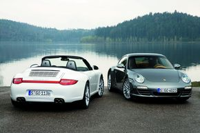 Facelift la Porsche Carrera 4 si Carrera 4S