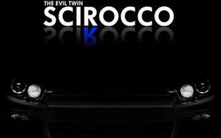 Primul teaser care confirma VW Scirocco