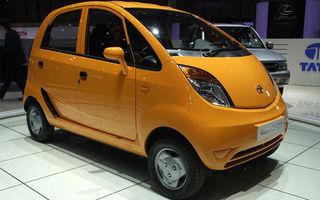 Fiat ar putea distribui Tata Nano in Europa