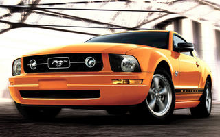 Iata noul Ford Mustang! Muscle-car la 45 de ani