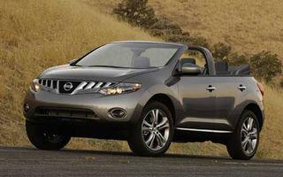 Nissan pregateste Murano decapotabil