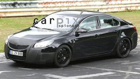 Opel Insignia OPC, spionat in teste la Nurburgring