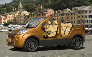 Fiat Show Van Portofino: jucarie de plaja