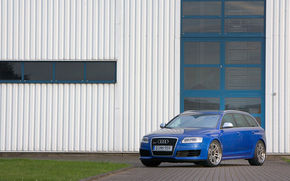 Isteria Audi RS6 Avant continua: kit-ul IMSA