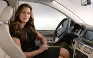 VIDEO: Brooke Shields promoveaza VW Routan