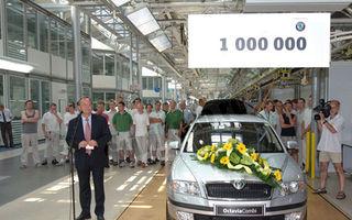 Skoda: Un milion de unitati de la fuziunea cu VW
