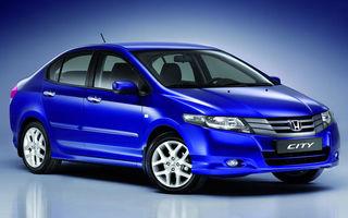 Honda City, sedanul ieftin, soseste in Europa