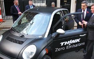 Premierul britanic studiaza modelul electric TH!NK
