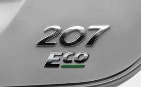 Peugeot 207 Eco, alimentat cu GPL