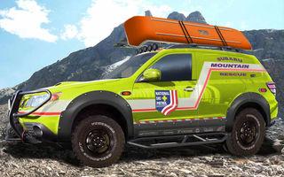 Mountain Rescue Forester sare in ajutorul schiorilor