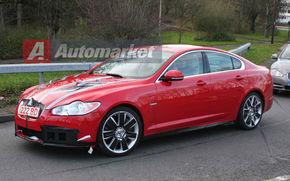 EXCLUSIV: Fotospion cu Jaguar XF-R, rivalul lui M5