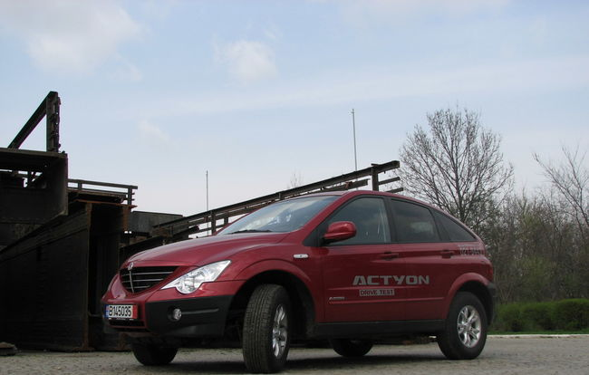 Test drive SsangYong Actyon (2005-2011)