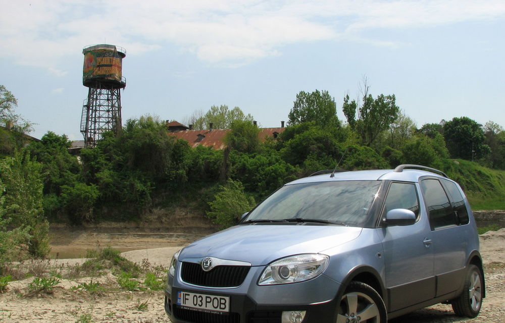 Test drive Skoda Roomster Scout (2006-2010)