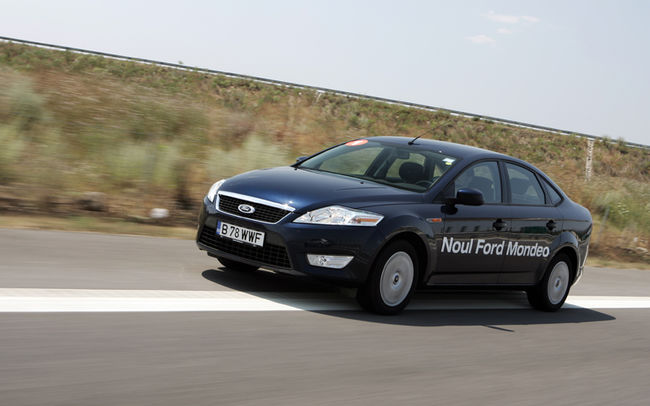 Test drive Ford Mondeo 5 usi (2007)