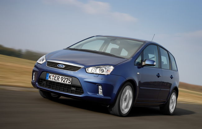 Test drive Ford C-Max (2007)