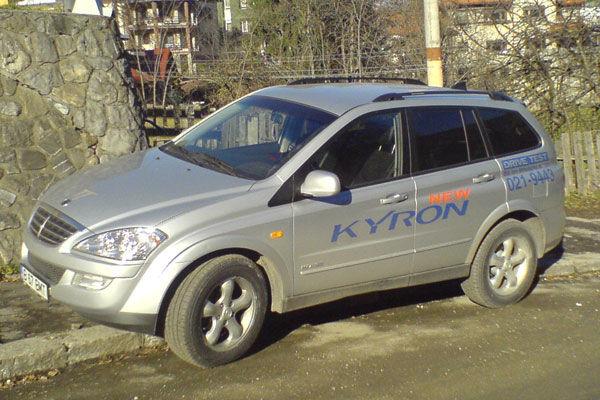 Test drive SsangYong Kyron (2005-2014)