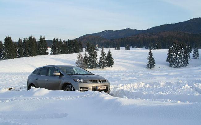 Test drive Mazda CX-7 (2007)