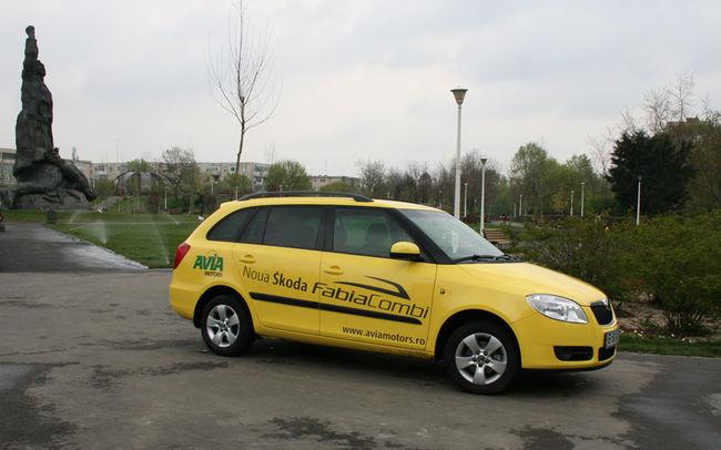 Test drive Skoda Fabia Combi (2007-2010)