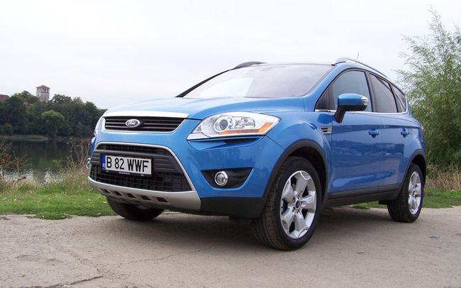 Test drive Ford Kuga (2008)