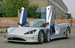 Italienii vor produce un supercar cu sase roti in 2009