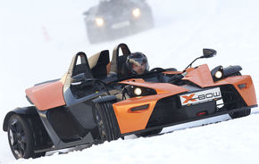 "KTM X-Bow primeste ""haine"" de iarna"