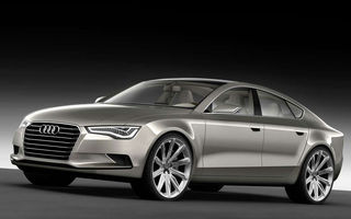 Viitorul Audi A7 e aici: el e Sportback Concept!