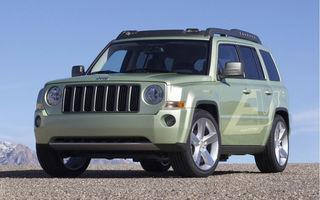 Jeep Patriot devine electric la Detroit