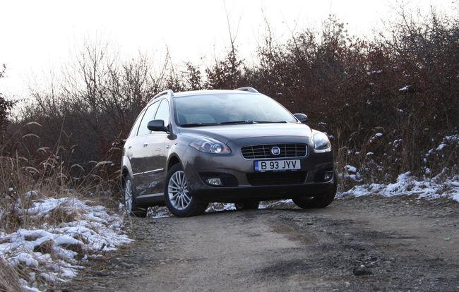 Test drive Fiat Croma (2008)