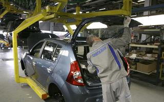 Productia auto a scazut cu 1.3% in Romania