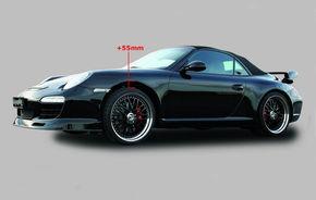 "Porsche 911 ""pluteste"" cu o noua suspensie pneumatica"