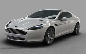OFICIAL: Primele fotografii ale lui Aston Martin Rapide