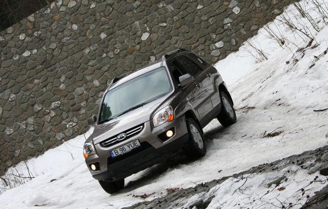 Test drive Kia Sportage (2006)