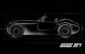 Prima imagine teaser cu Wiesmann MF4 Roadster