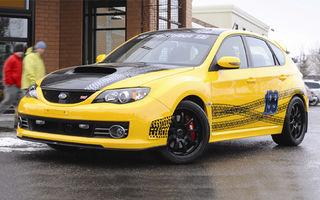 Subaru a creat un Impreza WRX STI pentru Travis Pastrana