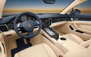 Interiorul lui Porsche Panamera - primele fotografii