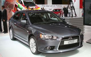 Mitsubishi s-a retras de la Salonul Auto de la Frankfurt