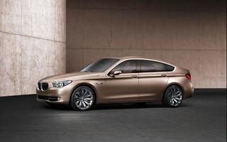 BMW Seria 5 GT - info si galerie foto completa