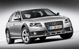Audi A4 Allroad - primele poze si informatii oficiale