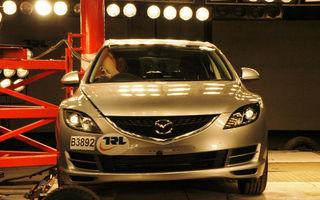Cinci stele EuroNCAP pentru Mazda6, Mitsubishi Lancer, Toyota IQ si Avensis