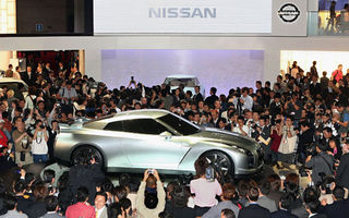 Nissan s-a retras de la majoritatea saloanelor auto din 2009