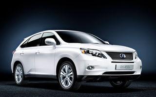 OFICIAL: Lexus a lansat noul Rx 450h la Geneva
