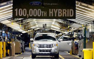 Ford a produs cel de-al 100.000-lea hibrid al sau