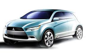 Mitsubishi pregateste un crossover hibrid pentru Tokyo