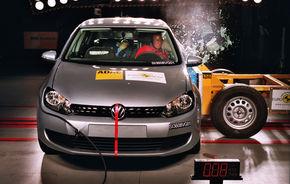 VW Golf 6 a primit cinci stele EuroNCAP