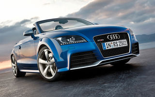Audi TT-RS Roadster va debuta la Salonul Auto din Leipzig